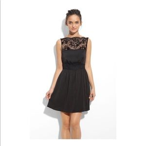 Little Black Lace Dress Tea for Two